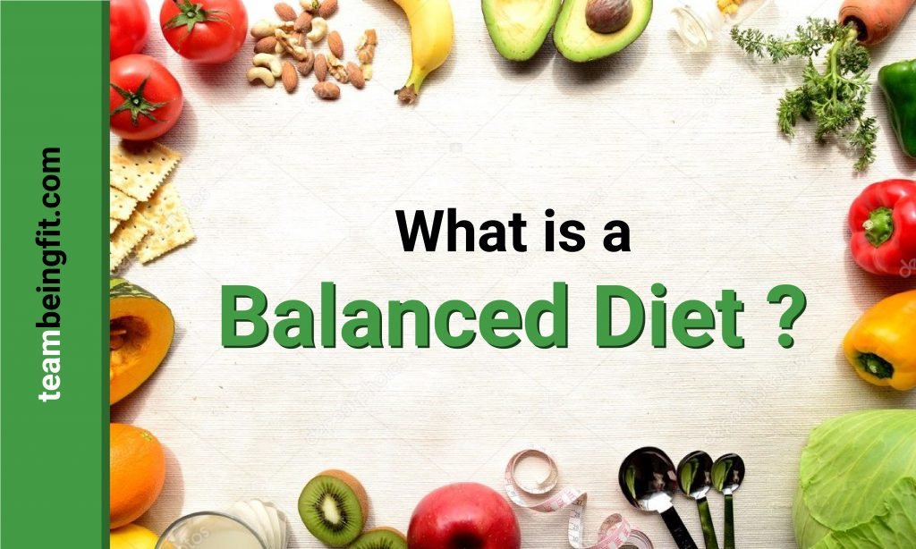 What is balanced diet answer